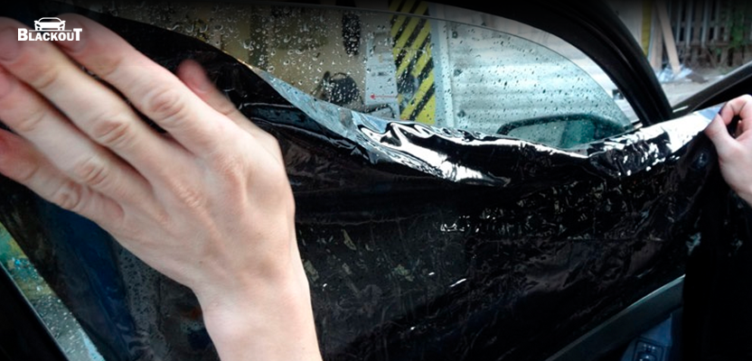 Тонировка авто своими руками